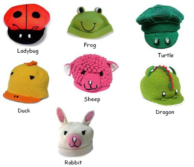 Free Stuffed Animal Hat Crochet Pattern - Orble