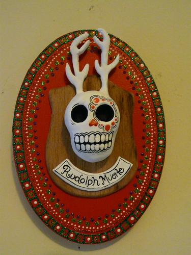 day of dead skull. of the Dead Reindeer Skull