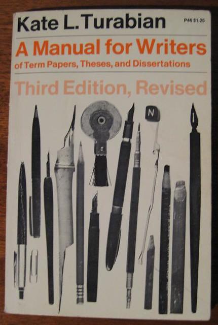 Chicago Turabian Citation Dissertation