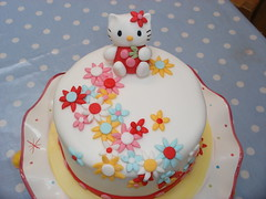 Hello Kitty Cake photo by neviepiecakes