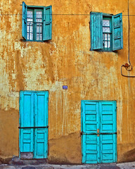 blue doors photo by Zé Eduardo...