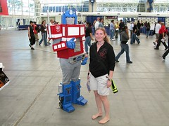 Optimus Prime seemed so much taller in the Transformers Movie photo by colorblindPICASO