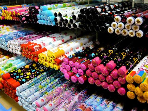 Pencils !