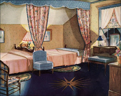 1930 Armstrong Linoleum Ad - Bedroom photo by American Vintage Home
