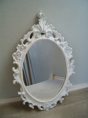 Vintage Carved Mirror photo by thevintagelaundress