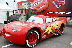Lightning Mcqueen from the film 'CARS' photo by stevewright tn1