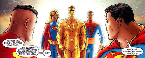 Superman Prime appears in All Star Superman #6