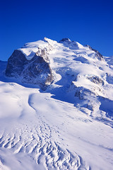 monte rosa massif photo by H o g n e