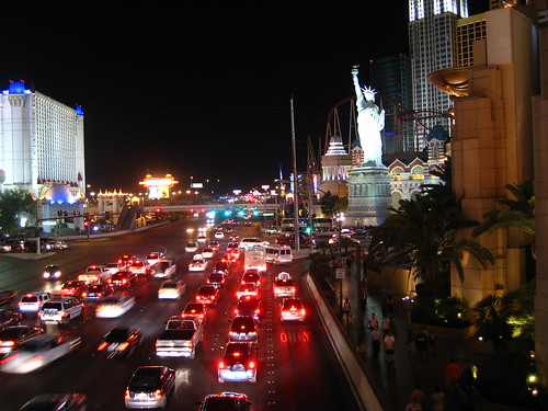 Night on the Strip