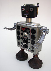 Seco 2 robot w/Brownie bullet camera head photo by Lockwasher