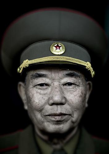 north korean army hat. North Korean General