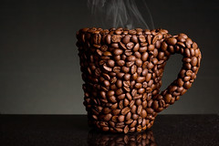 Coffee bean mug. Available on istock #7646641 photo by Dortch Taylor Photography
