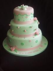 Christening Cake photo by JaneBK