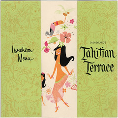 Disneyland Tahitian Terrace Lunch Menu 1963 photo by Miehana