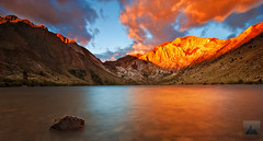 Convict Gold - Convict Lake, Eastern Sierra Nevada, California photo by david.richter