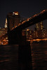 Brooklyn Bridge, at night