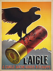 vintage poster l'Aigle photo by vintageposters