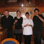 Crew aboard the Scottish Highlander