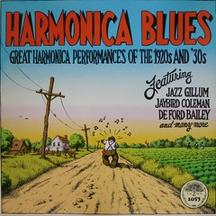 harmonica blues #1 photo by blues vinyl records