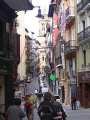 Street in Pamplona