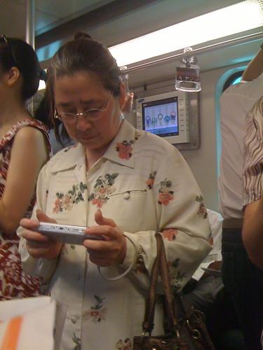 魔都地铁写真:我宅我年轻