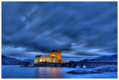 Eilean Donan Castle at Night photo by Photographers Eye