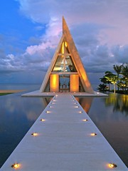 Conrad Hotel Bali - Wedding Chappel I photo by yushimoto_02 [christian]