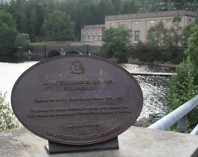 James Williamson and the Sloy hydro electric scheme | Flickr - Photo ...