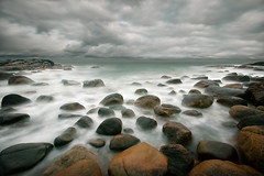 stormy stone beach photo by H o g n e