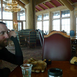 Joe in the lodge