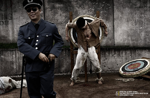 amnesty international olympic games human rights torture archery