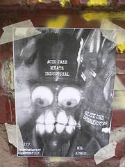 Most disturbing gig poster award goes to... photo by happeningfish