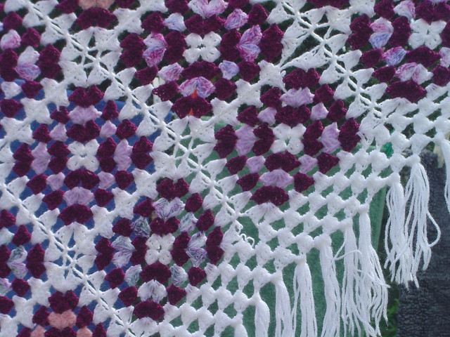 How to Crochet a Shawl Using the Granny Stitch | eHow.com