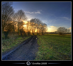 Sunset @ Het Broek, Mechelen, Belgium :: HDR :: Vertorama photo by Erroba