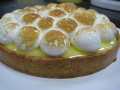 lemon cream tart