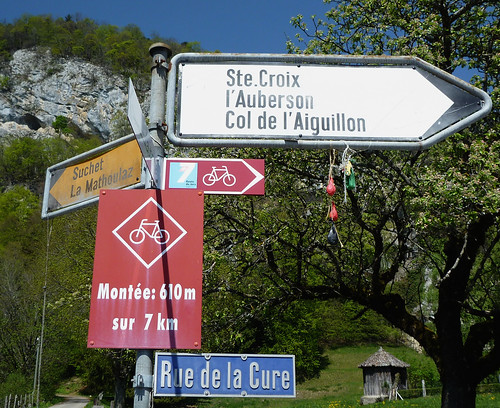 Start of Col d'Aiguillion