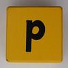 Alphabet Block p