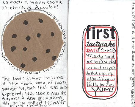 Travel Journal: Pages 7-8