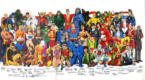 DC Comics Jam Poster