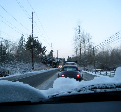 Crawling along Woodinville-Duvall Road