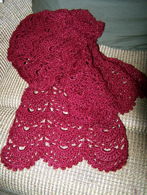 Free Crochet Pattern: Vanna's Choice® Fortuna Scarf