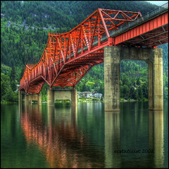 Bridge to Nelson photo by ecstaticist