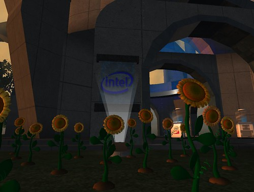 Intel Sunflower in Second Life
