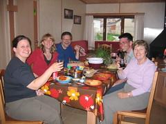 Dinner in Atapuerca