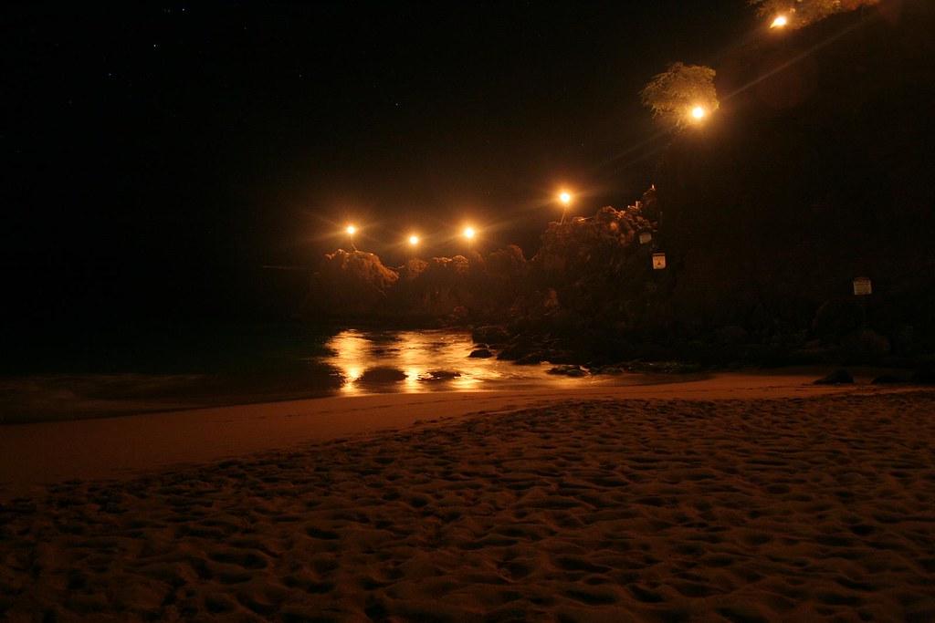 Black Rock at Night