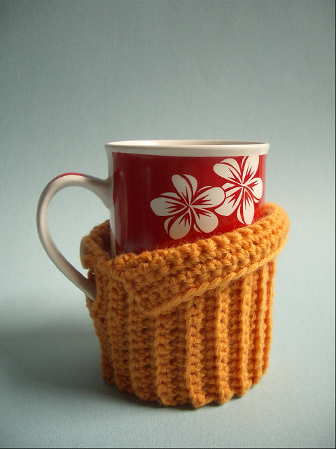 CrazySocks Crochet — grandma mae's mug cozy PATTERN