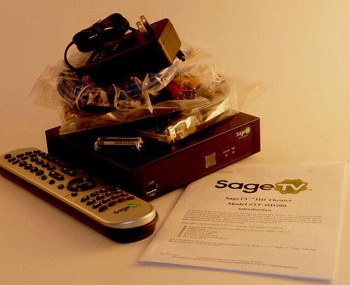 SageTV HD200 Packaging