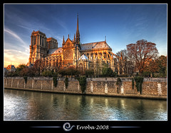 Notre Dame @ Seine, Paris, France :: HDR photo by Erroba