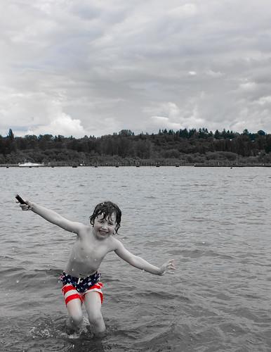 F in lake washington