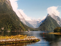 It sounds sooo good .... Milford Sound, New Zealand photo by Batikart ... handicapped ... sorry for no comments